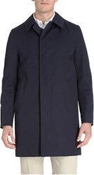 Aquascutum London Aquascutum Slim Broadgate Raincoat Blue