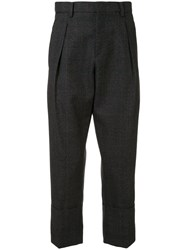Wooyoungmi Classic Tailored Trousers Black