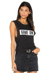Tyler Jacobs Game On Cut Off Tank Black