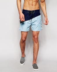D Struct Board Shorts Blue