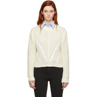 3.1 Phillip Lim Off White Cropped Sweater
