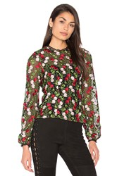 Alexis Aida Blouse Red