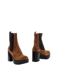 Jeannot Ankle Boots Camel
