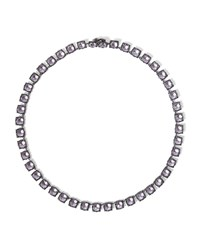 Larkspur And Hawk Bella Small Riviere Necklace Ballet Silver