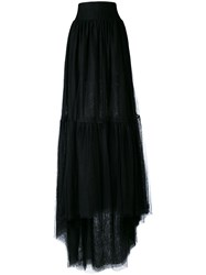 Stefano Mortari Long Tulle Skirt Women Polyamide 42 Black