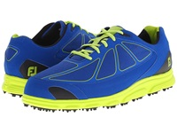 Footjoy Fj Superlites Ct Dark Blue Lime Men's Golf Shoes Green