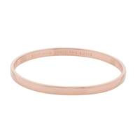 Kate Spade New York Stop And Smell The Roses Bangle Rose Gold