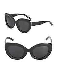 3.1 Phillip Lim 52Mm Cat's Eye Sunglasses Black