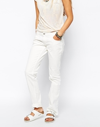 Zadig And Voltaire Zadig And Voltaire Straight Leg Twill Jeans Blanc