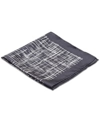 Ryan Seacrest Distinction Spotlight Plaid Pocket Square Only At Macy's