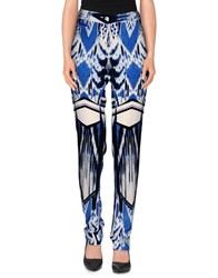 Roberto Cavalli Trousers Casual Trousers Women Blue