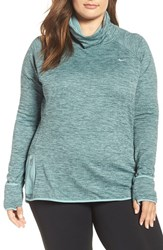 Nike Plus Size Women's Sphere Element Top Hasta Heather Cannon Silver
