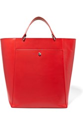 Elizabeth And James Eloise Large Leather Tote Red
