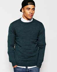 New Look Crew Neck Jumper Blue