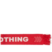 Lanvin Nothing Football Scarf Red