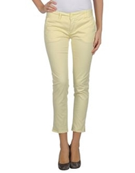 Vicolo Casual Pants Light Yellow