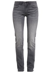 Wrangler Drew Straight Leg Jeans Great Grey Grey Denim