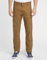Carhartt Mustard Cargo Ruck Double Knee Patterson Trousers Yellow