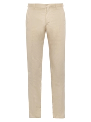 Burberry Stirling Slim Leg Cotton Chinos