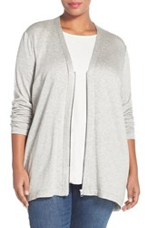 Plus Size Women's Eileen Fisher V Neck Cardigan