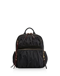 M Z Wallace Mz Maddie Backpack Black Gold