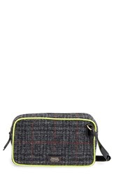 Frances Valentine 'Lucy' Plaid Crossbody Bag Grey Grey Multi Green