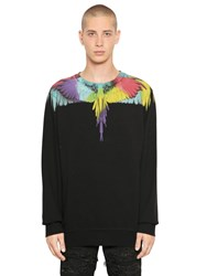 Marcelo Burlon Nicolas Printed Cotton Sweatshirt