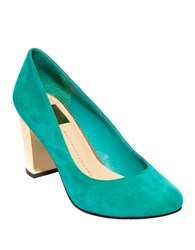 Dolce Vita Dollie Suede Pumps Teal