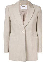 Camilla And Marc Olsen Single Breasted Blazer Grey