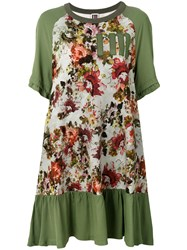 I'm Isola Marras Floral Print Sweat Dress Green