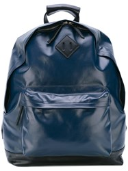 Golden Goose Deluxe Brand Shine Backpack Men Leather One Size Blue