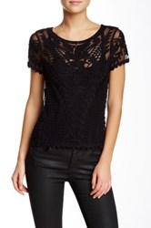 Dex Embroidered Blouse Black