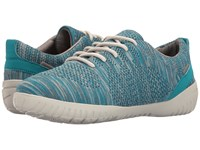 Rockport Raelyn Knit Tie Teal Heather Women's Shoes Blue