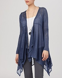 Phase Eight Cardigan Diane Linen Handkerchief Hem