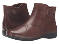 Aravon Anstice Ar Brown Women's Zip Boots