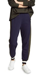 Wilt Mix Slimmed Colorblock Jogger Abyss Seaweed