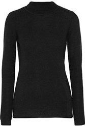 Duffy Cashmere Turtleneck Sweater Black