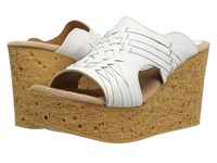 Sbicca Manny White Women's Wedge Shoes