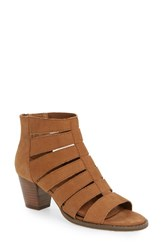 Vionic Women's Harlow Bootie Caramel Leather