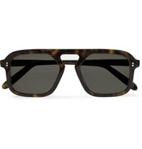 Kingsman Cutler And Gross Square Frame Tortoiseshell Acetate Sunglasses