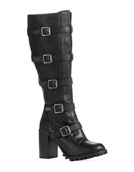 Report Signature Anabelle Knee High Boots Black