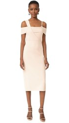 Jason Wu Off Shoulder Dress Pink Champagne