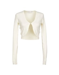 Caractere Wrap Cardigans Ivory