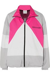 Vetements Mustermann Color Block Cotton Track Jacket Pink