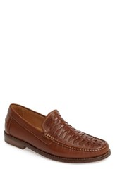 Tommy Bahama Men's Fynn Loafer Saddle Brown Leather
