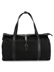 Mismo Leather Trim Holdall Black