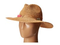 Echo Jewelry Tassel Panama Beach Hat Natural Caps Beige