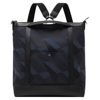 Mulberry Multitasker Camo Canvas Backpack Blue Dazzle