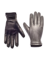 Honns Oliver Leather Gloves Wolf Gray