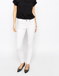Dr. Denim Dr Denim Lexy 4 Pocket High Waist Skinny Jeans White